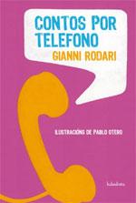 Portada de Contos por teléfono. Autor   Carlos Acevedo Díaz