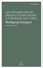 Portada de Apuntamentos de Jakob Littner desde un burato no chan
