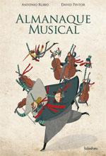 Portada de Almanaque musical. Autor   Xosé Ballesteros Rei