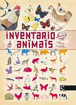 Portada de Inventario ilustrado de animais. Autor   Virginie Aladjidi