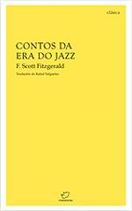 Portada de Contos da era do jazz. Autor   Rafael Salgueiro