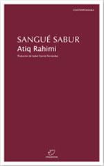 Portada de Sangué sabur. Autor   Atiq Rahimi