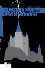 Portada de O castelo dos Cárpatos. Autor   Jules Verne