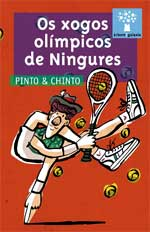 Portada de Os xogos olímpicos de Ningures. Autor   David Pintor