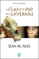 Portada de O Clan do oso das cavernas. Autor   Jean M. Auel