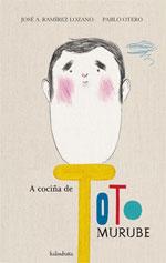 Portada de A cociña de Toto Murube. Autor   Carlos Acevedo Díaz