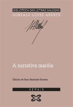 Portada de A narrativa mariña. Autor
