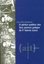 Portada de O pórtico poético dos Seis poemas galegos de F. García Lorca