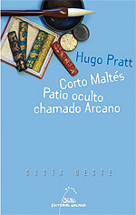 Portada de Corto Maltés. Patio oculto chamado Arcano. Autor   Ánxela Gracián