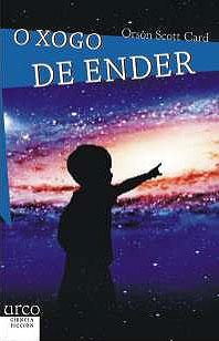 Portada de O xogo de Ender. Autor   Rodrígo Vizcaíno Bravo
