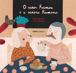 Portada de O señor Ramón e a señora Ramona. Autor   Marisa Núñez