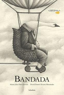 Portada de Bandada. Autor   Manuela Rodríguez
