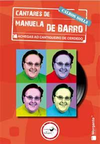Portada de Cantares de Manuela de Barro. Autor   Calros Solla