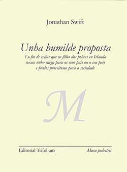 Portada de Unha humilde proposta. Autor   María Fe González