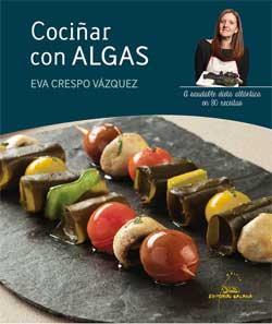 Portada de Cociñar con algas