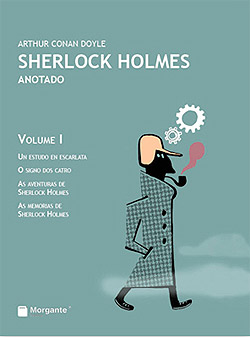 Portada de Sherlock Holmes Anotado Vol. I. Autor   Bieito Iglesias