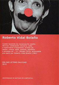 Portada de Roberto Vidal Bolaño. Autor   Varios autores