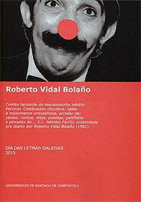 Portada de Roberto Vidal Bolaño. Autor