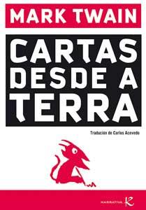 Portada de Cartas desde a Terra. Autor   Carlos Acevedo Díaz