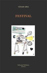 Portada de Festival. Autor   César Aira