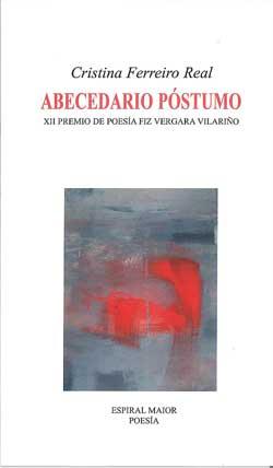 Portada de Abecedario póstumo. Autor   Cristina Ferreiro Real