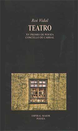 Portada de Teatro. Autor   Roi Vidal