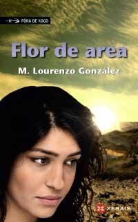 Portada de Flor de area. Autor   Manuel Lourenzo González
