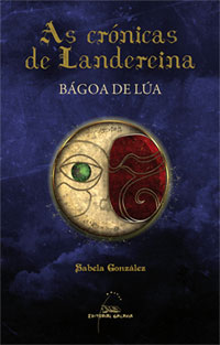 Portada de Bágoa de Lúa. Autor   Sabela González
