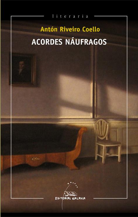Portada de Acordes náufragos. Autor   Antón Riveiro Coello