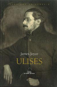 Portada de Ulises. Autor   James Joyce