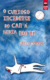 Portada de O curioso incidente do can á media noite. Autor   Moisés Rodríguez Barcia