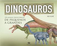 Portada de Dinosauros. Autor   Roc Olivé