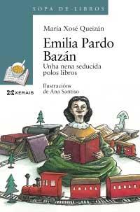 Portada de Emilia Pardo Bazán. Autor   María Xosé Queizán