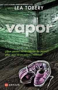 Portada de Vapor. Autor   Ana Isabel Boullón Agrelo