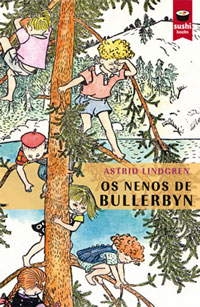 Portada de Os nenos de Bullerbyn. Autor   Moisés Rodríguez Barcia