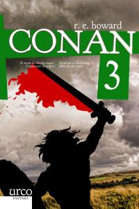 Portada de Conan 3. Autor   Tomás González Ahola