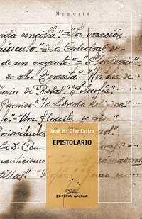 Portada de Epistolario. Autor   Armando Requeixo Cuba