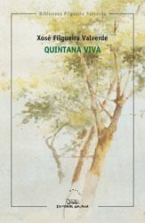 Portada de Quintana viva. Autor   Xosé Filgueira Valverde