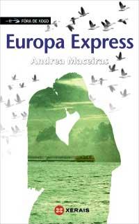 Portada de Europa Express. Autor   Andrea Maceiras