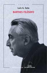 Portada de Barthes filósofo. Autor