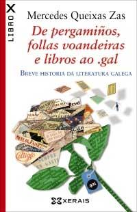Portada de De pergamiños, follas voandeiras e libros ao .gal