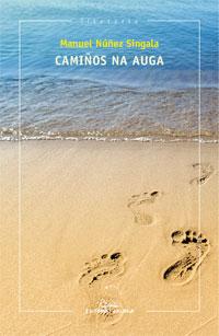 Portada de Camiños na auga. Autor   Manuel Núñez Singala