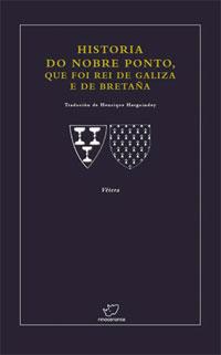 Portada de Historia do nobre Ponto que foi Rei de Galiza e de Bretaña