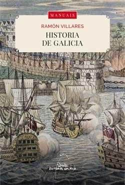 Portada de Historia de Galicia. Autor