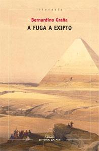 Portada de A fuga a Exipto. Autor   Bernardino Graña