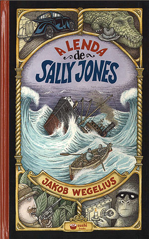 Portada de A lenda de Sally Jones