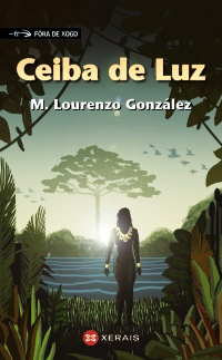 Portada de Ceiba de Luz. Autor   Manuel Lourenzo González