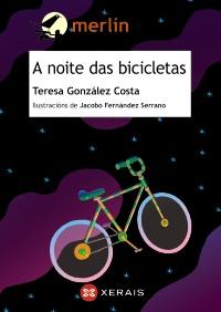 Portada de A noite das bicicletas. Autor