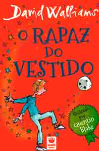 Portada de O rapaz do vestido. Autor   David Wallians