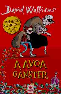 Portada de A avoa gánster. Autor   David Wallians